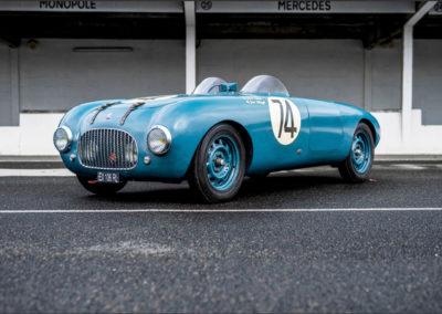 1950 Simca Estager Barquette inscrite au 24 Heures du Mans mais n'a pas pris le départ.