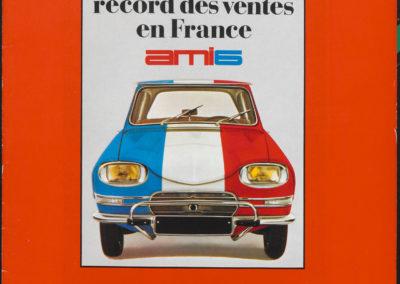 1961 Citroën AMI 6 record des vente en 1966.