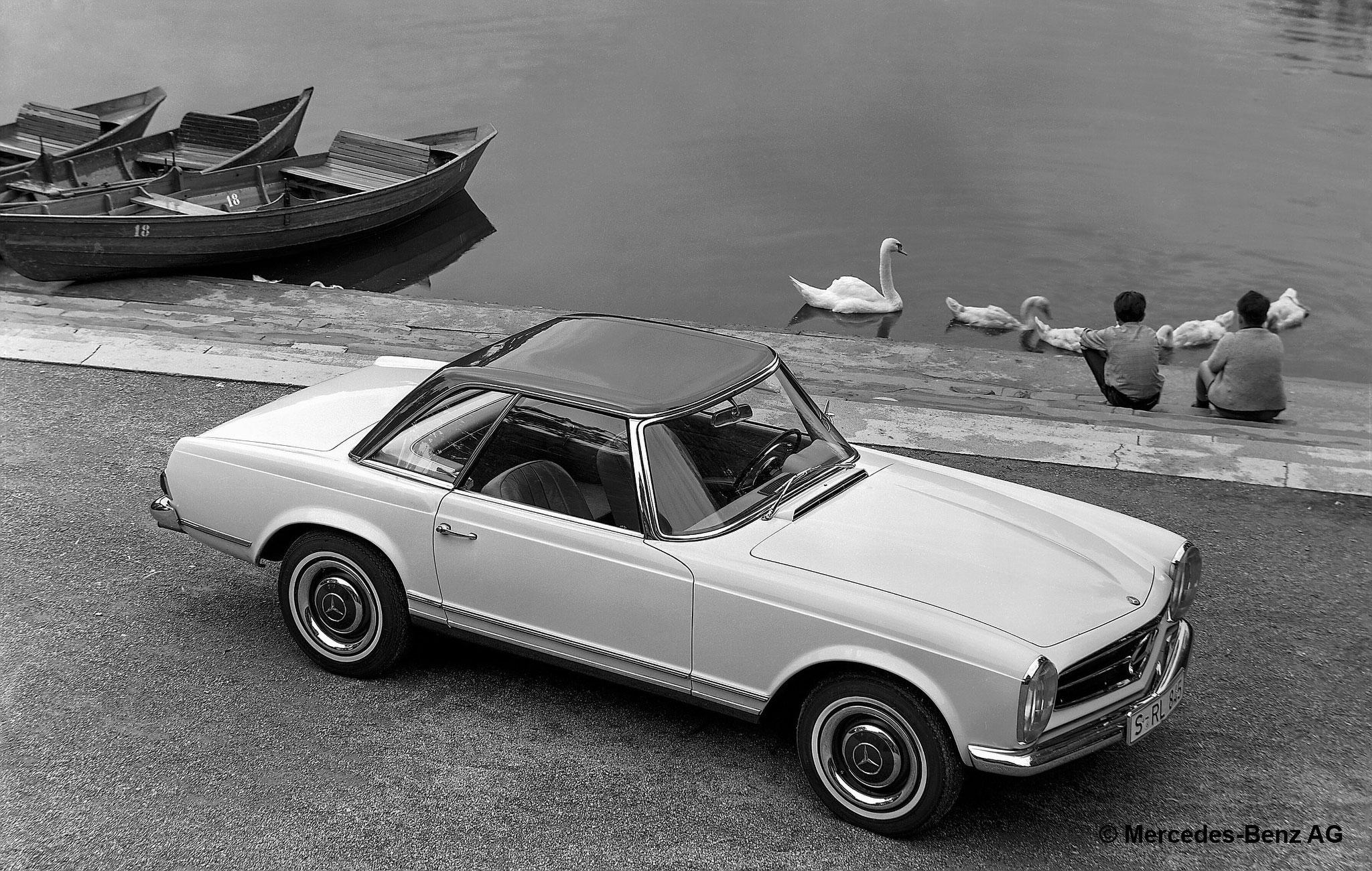 1963-1971 Mercedes-Benz 280 SL - Résultats Ascot avril 2021.