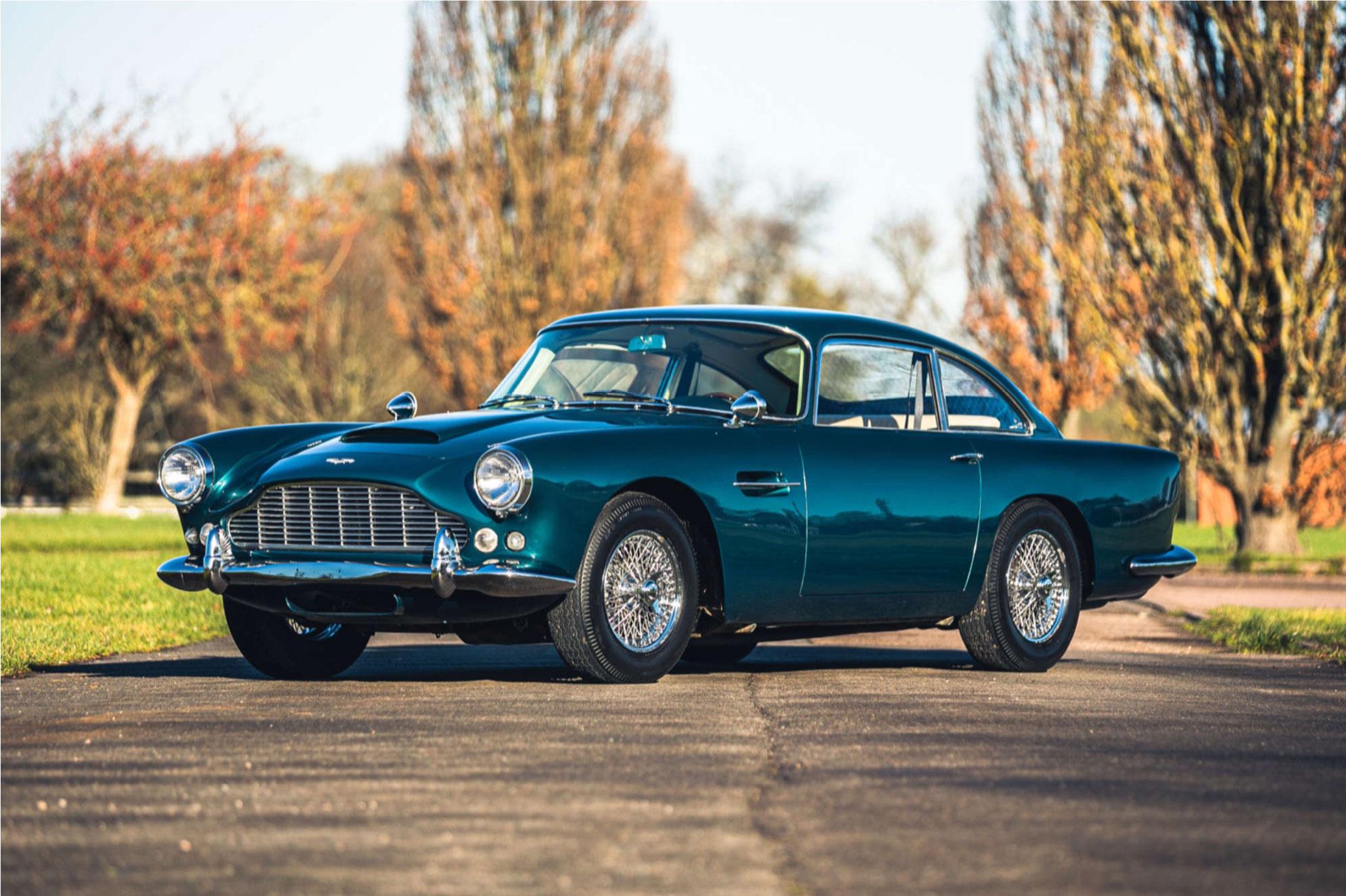 1963 Aston Martin DB4 Series 5 - £354,375 - Silverstone Auction mars 2021.