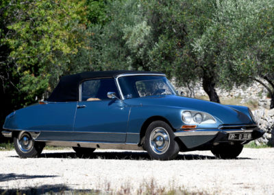 1967 Citroën DS 21 cabriolet Chapron N° 4600088 - The Monaco Sale.
