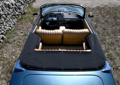 1967 Citroën DS 21 cabriolet Chapron boîte de vitesse hydraulique semi-automatique.
