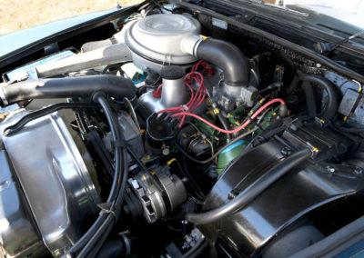 1967 Citroën DS 21 cabriolet Chapron restauration mécanique chez Atelier 524 à Grenoble.