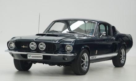 Shannons Auctions avril 2021 | Trois superbes Mustang Fastback aux enchères