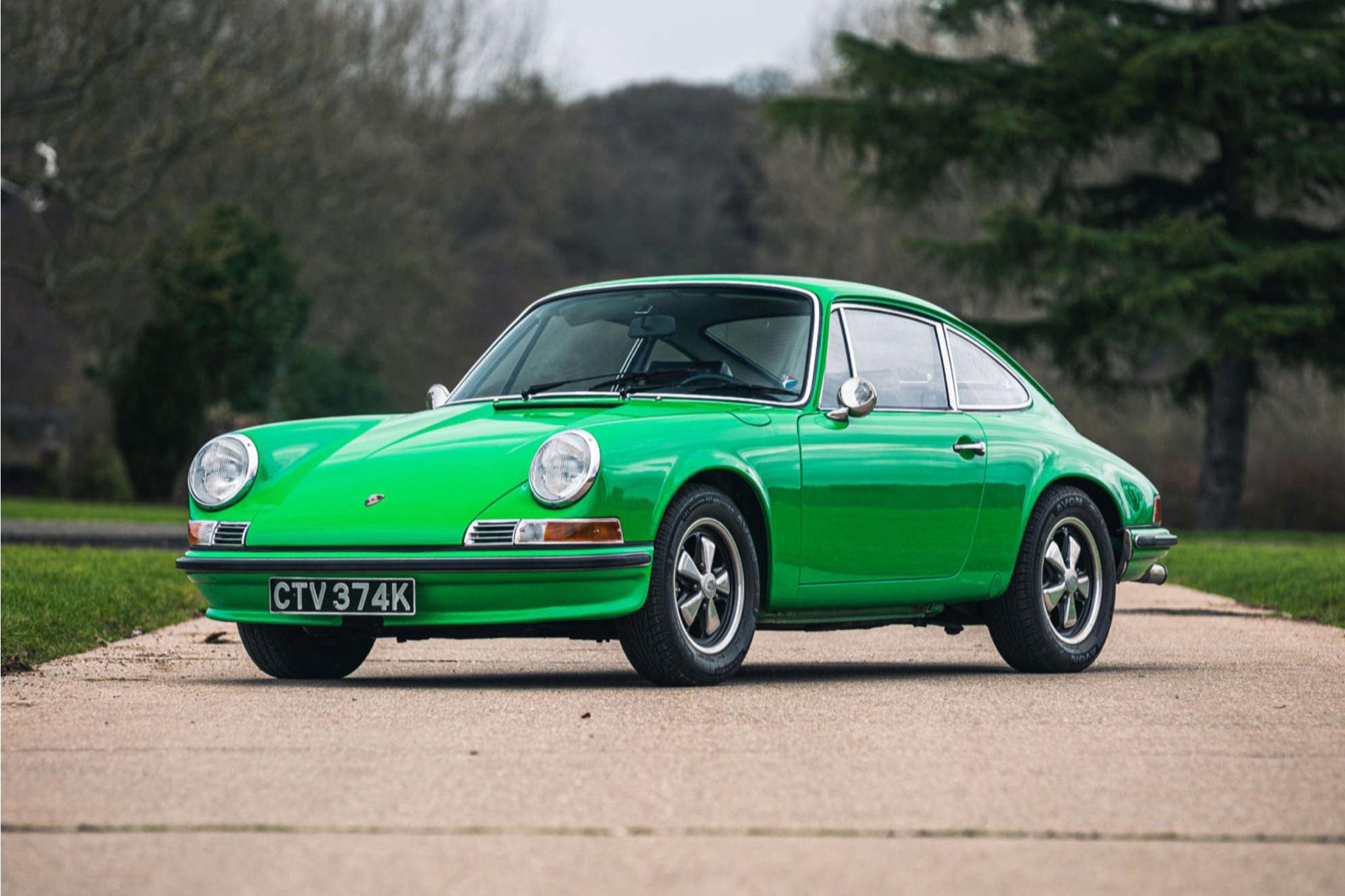 1972 Porsche 911 2.4S - £144,000 - acheteur suisse - Silverstone Auction mars 2021.