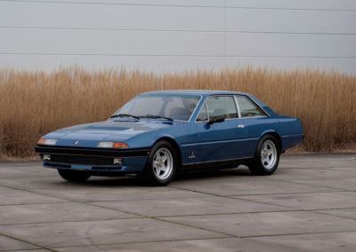 1983 Ferrari 400i GT 2+2 évolution de la 365 GT4 et injection K-Jetronic.