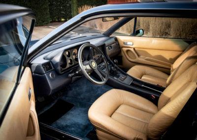 1983 Ferrari 400i GT 2+2 fauteuils en cuir pour les longs voyages.