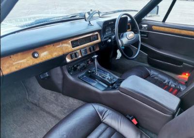 1983 Jaguar XJ-S HE 5.3-Litre Lynx Eventer poste de conduite et tableau de bord - Classic Car Auctions mars 2021.