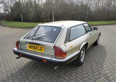 1983 Jaguar XJ-S HE 5.3-Litre Lynx Eventer trois quarts arrière droit - Classic Car Auctions mars 2021.