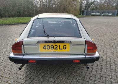 1983 Jaguar XJ-S HE 5.3-Litre Lynx Eventer vue arrière - Classic Car Auctions mars 2021.