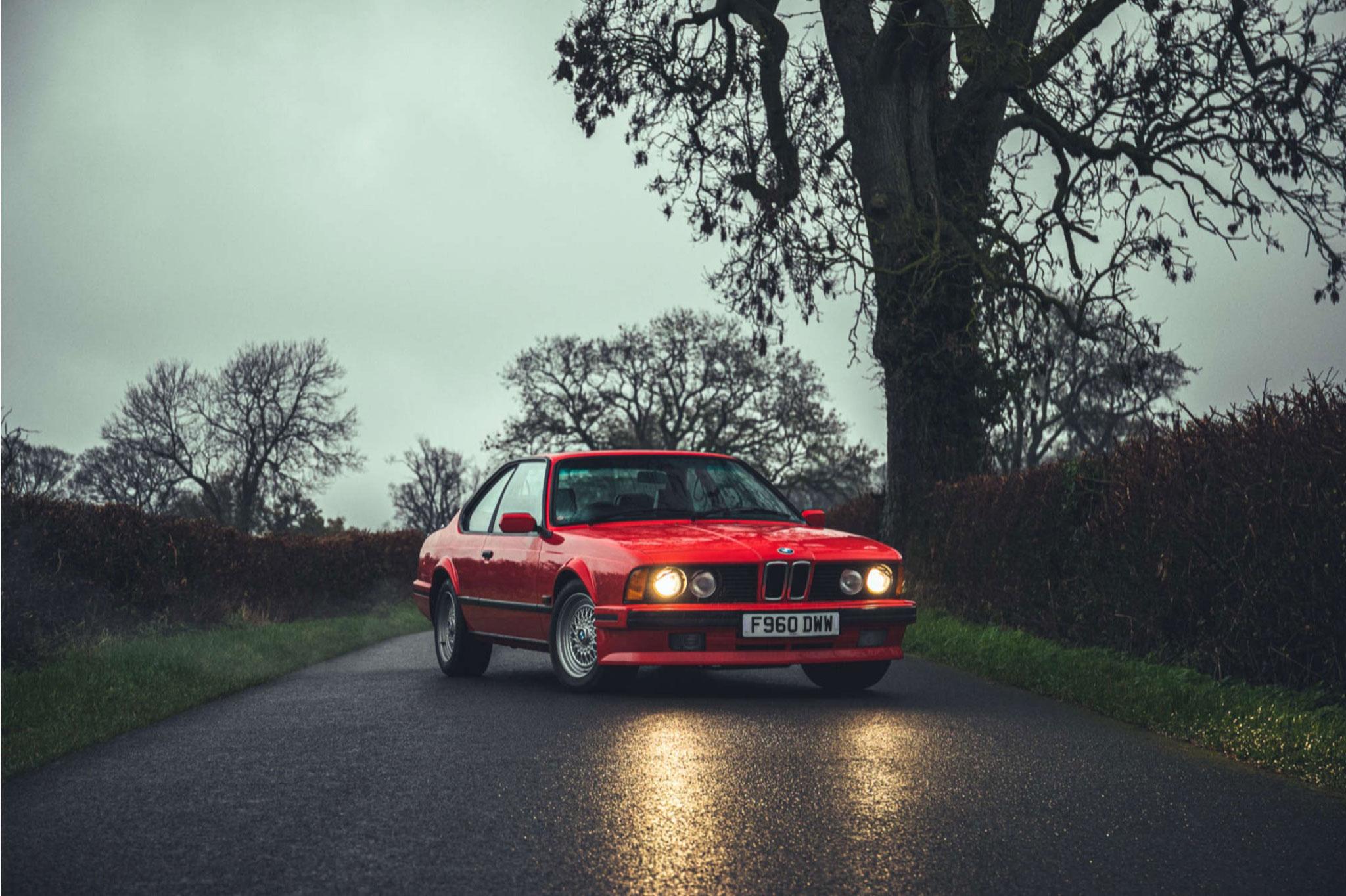1989 BMW 635 CSi Highline automatique - £47,250 - Silverstone Auction mars 2021.