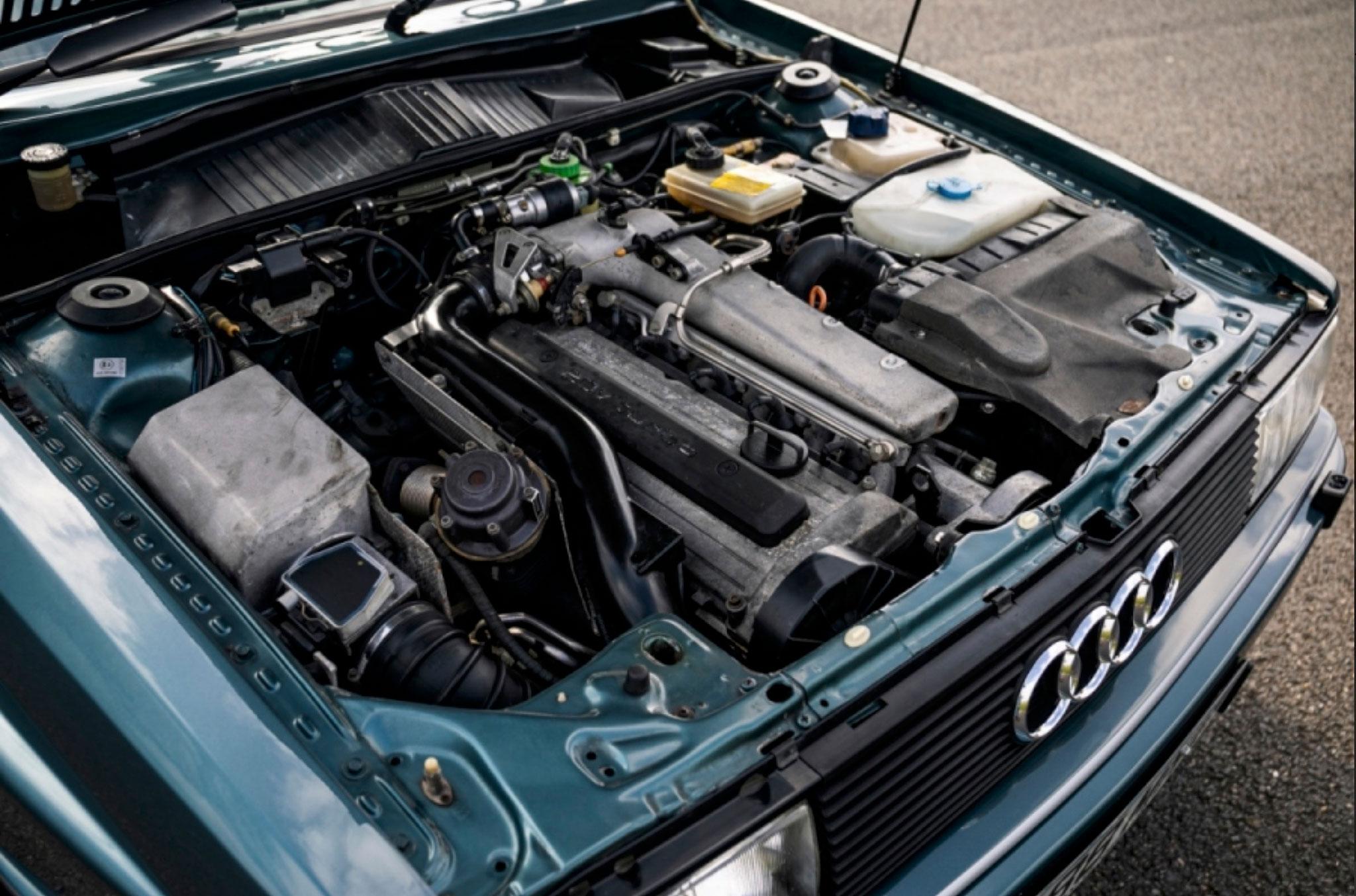 1990 Audi Quattro 20V moteur 2.2-Litre 20V 220 chevaux - Classic Car Auctions mars 2021.