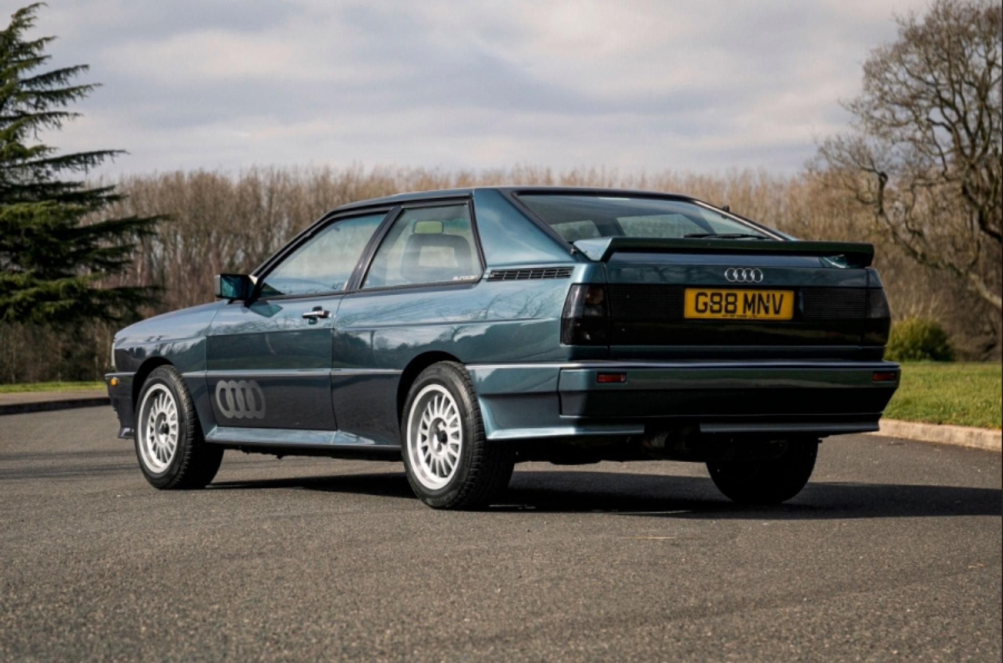 1990 Audi Quattro 20V trois quarts arrière gauche - Classic Car Auctions mars 2021.