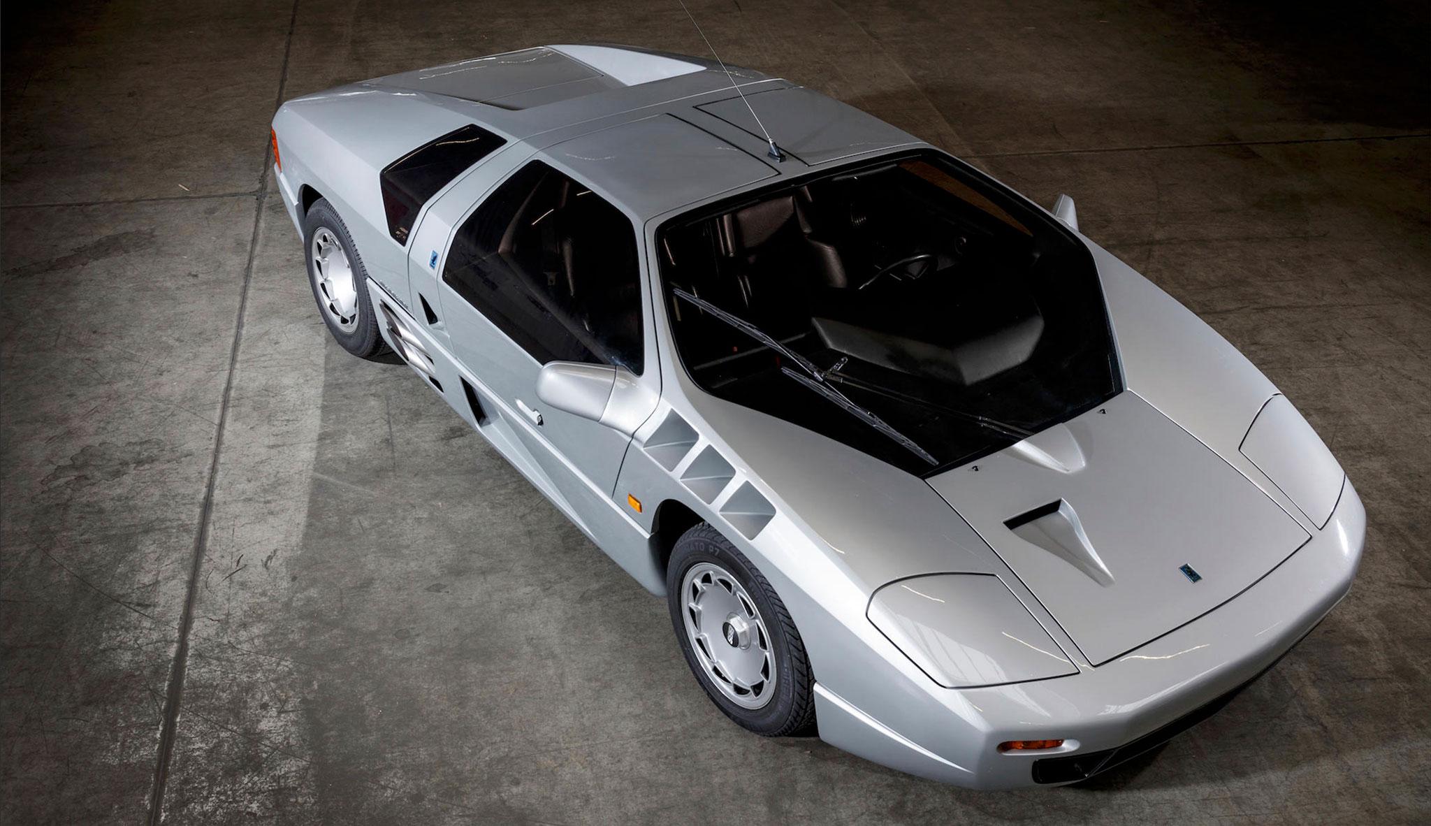 1991 Isdera Imperator 108i series II 30 exemplaires entre 1984 et 1993.