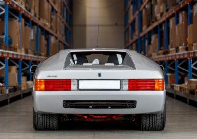1991 Isdera Imperator 108i series II style assez quelconque de la partie arrière.