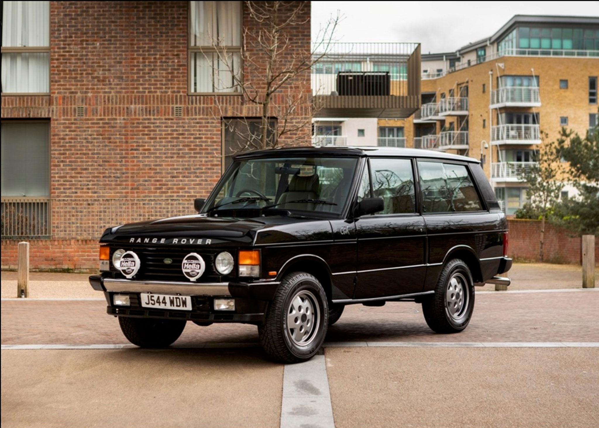 1991 Range Rover CSK une version luxe en l'honneur de Charles Stephen King - Coups de Coeur Historics Auctioneers.