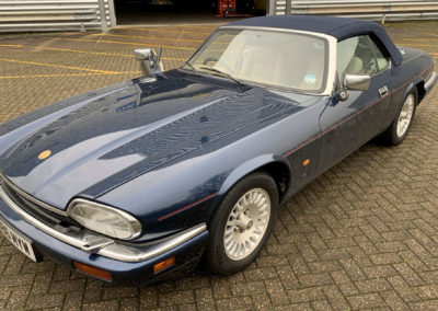 1994 Jaguar XJ-S V12 6.0-Litre Cabriolet - £27750 - Classic Car Auctions mars 2021.