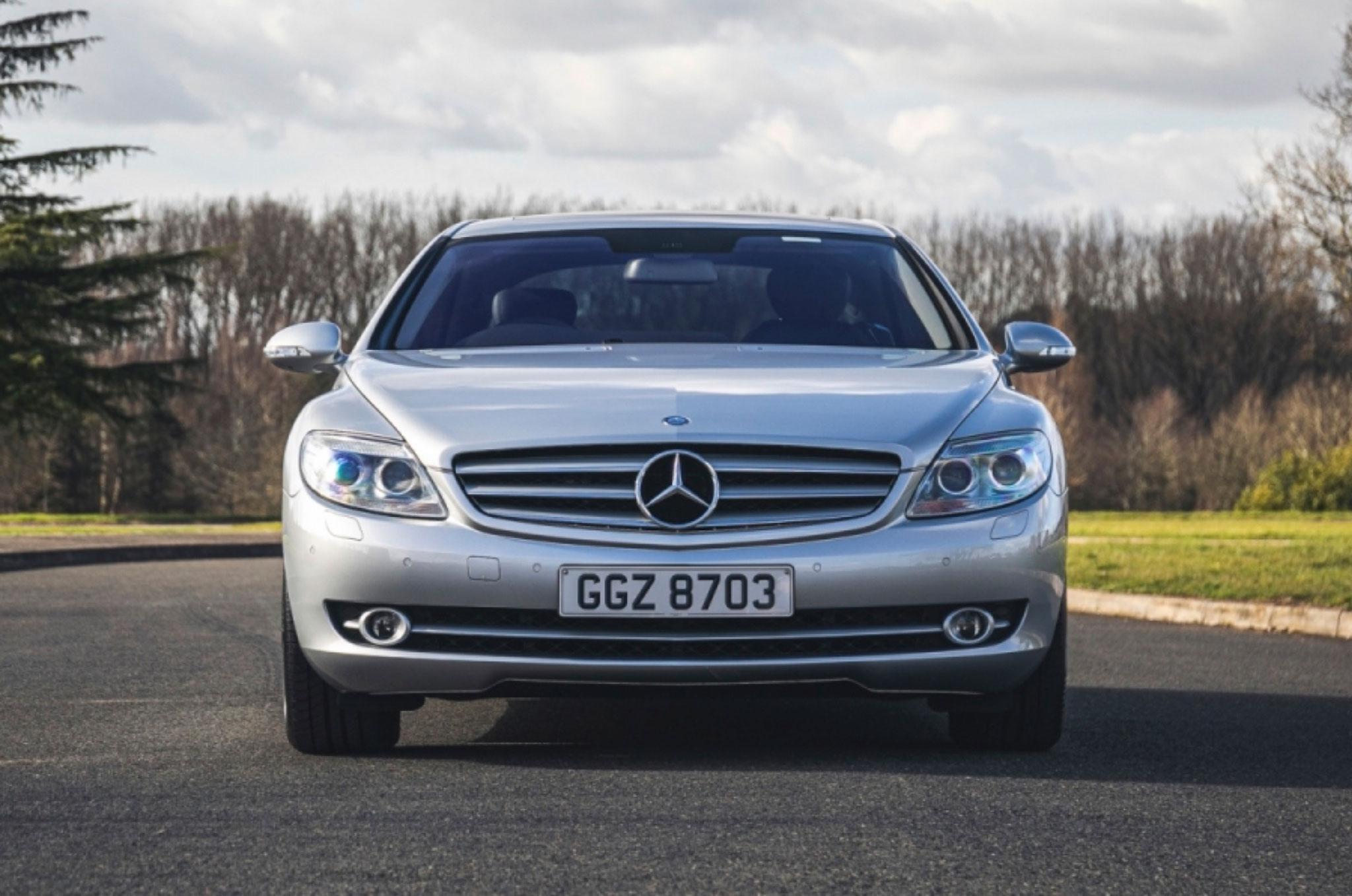 2008 Mercedes-Benz CL500 face avant - Classic Car Auctions mars 2021.