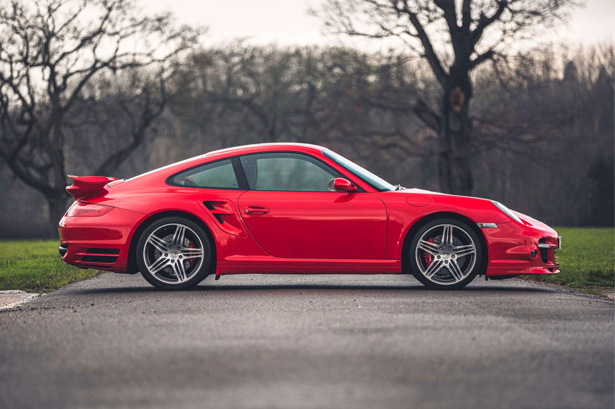 2008 Porsche 911 997 Turbo - £66,375 - Silverstone Auction mars 2021.