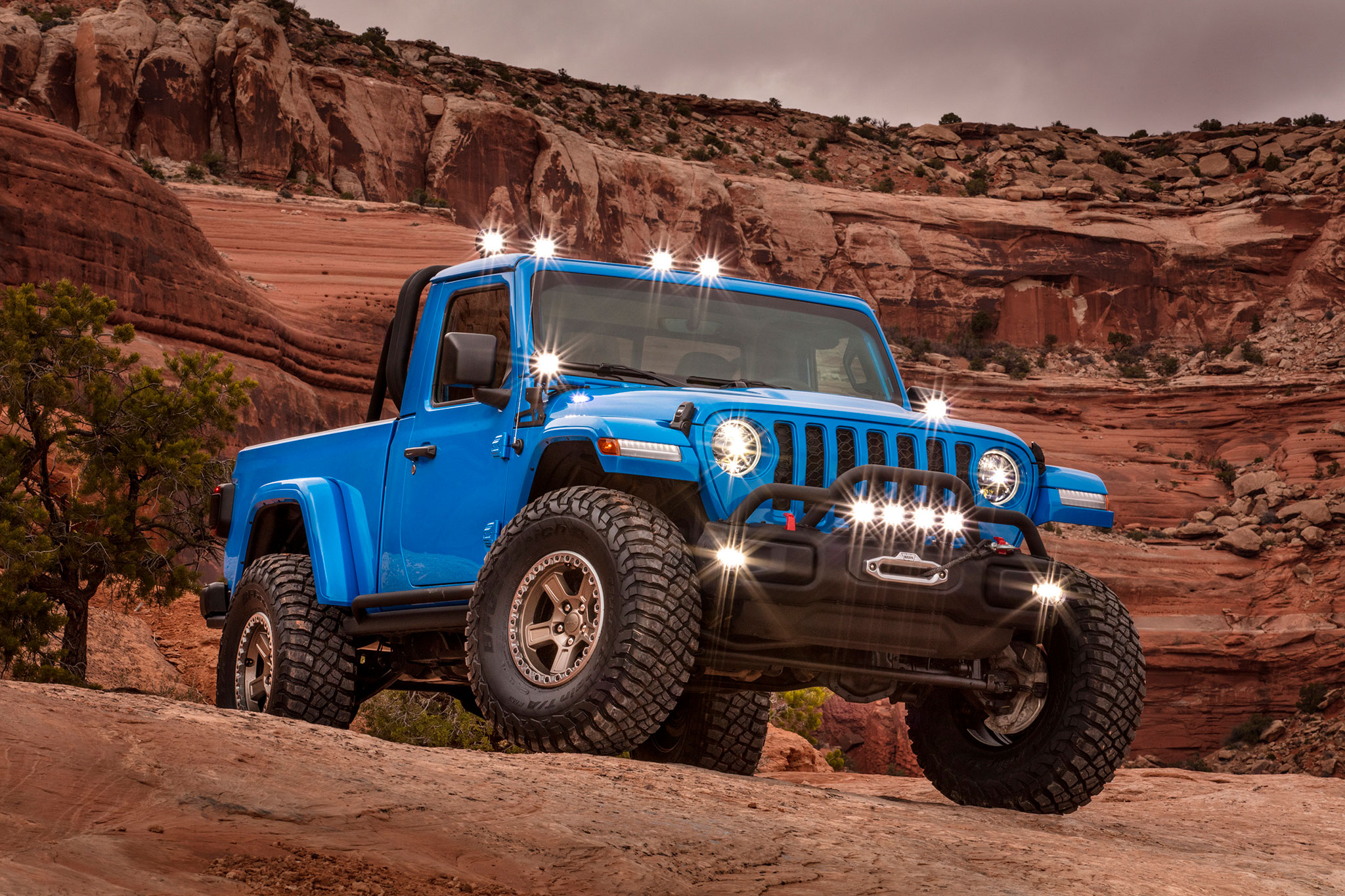 2019 Jeep J6 base Gladiator raccourcie - Moab Easter Jeep Safari.
