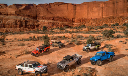 Rendez-vous annuel pour le 53e Moab Easter Jeep Safari