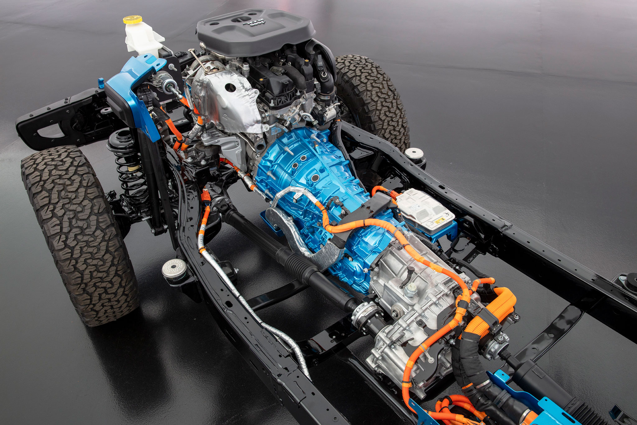 2021 Jeep Wrangler 4xe convertisseur montée sur transmission automatique à 8 rapports
