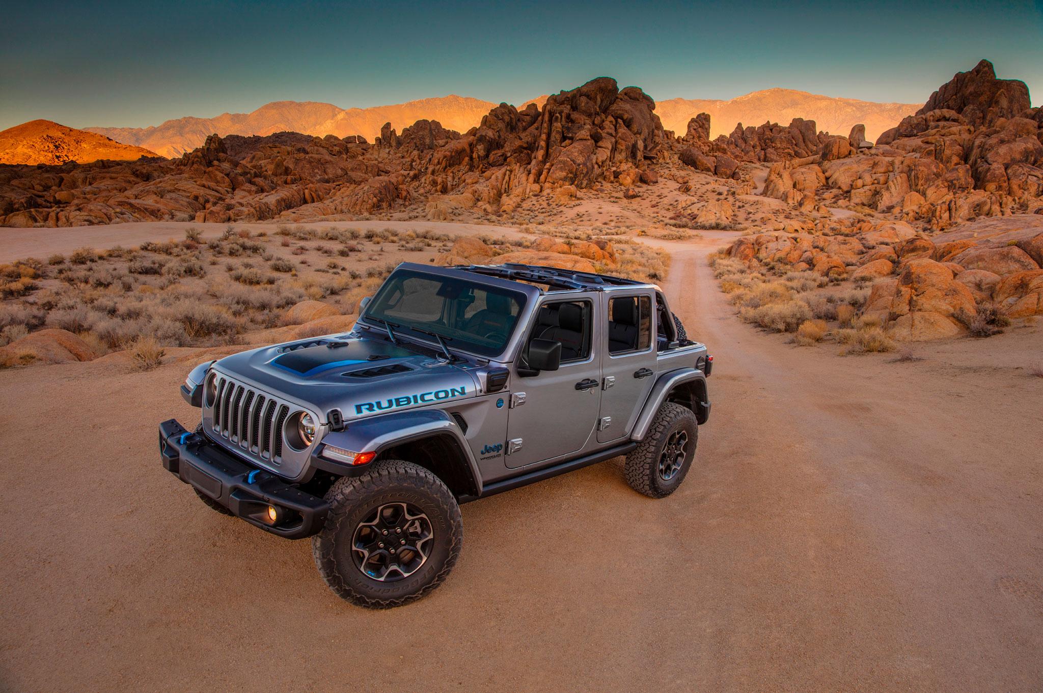 2021 Jeep Wrangler 4xe est équipé du système Rock Trac Dana 44 et Tru Lok