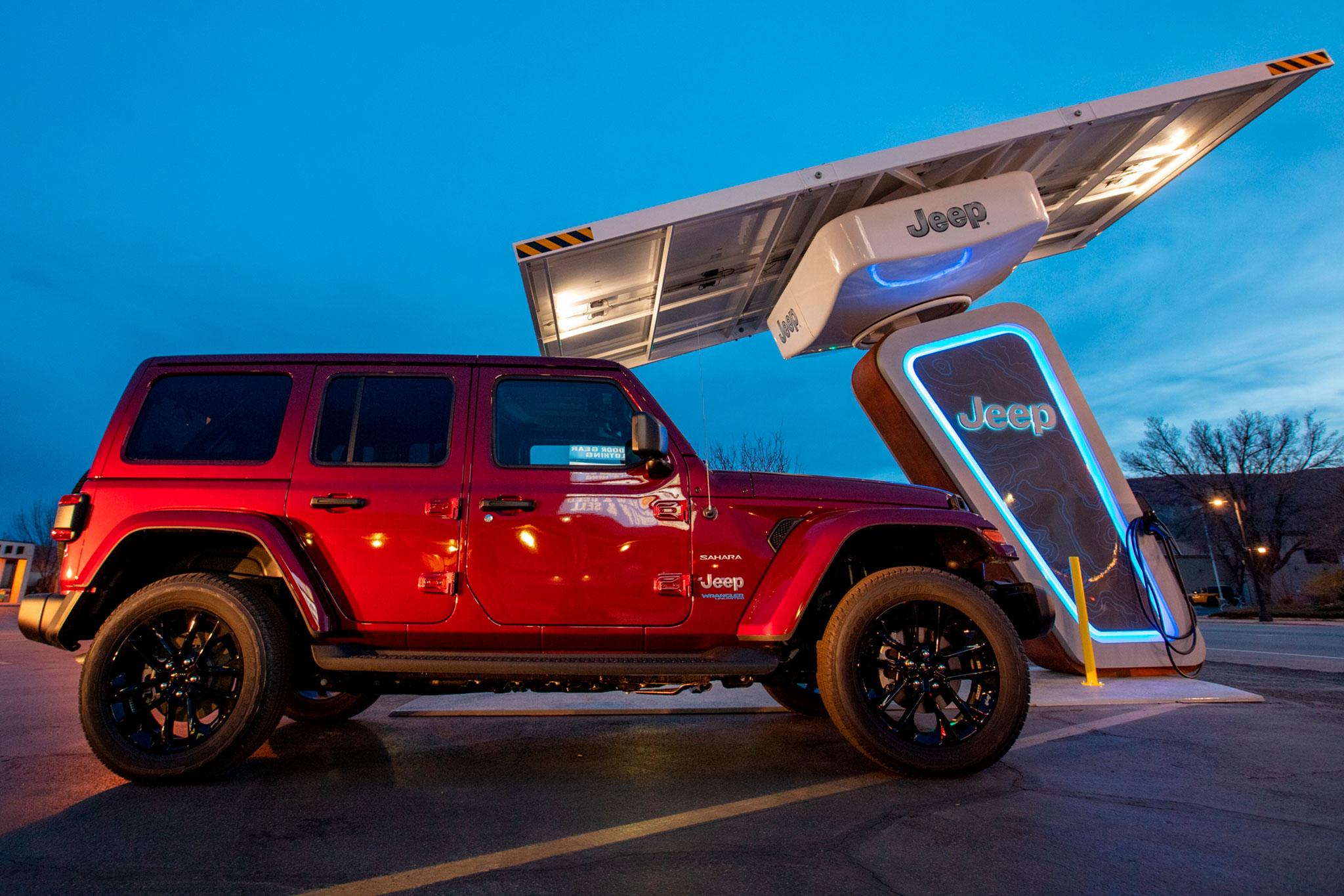 2021 Jeep Wrangler 4xe le réseau supportera toute la famille Jeep xe