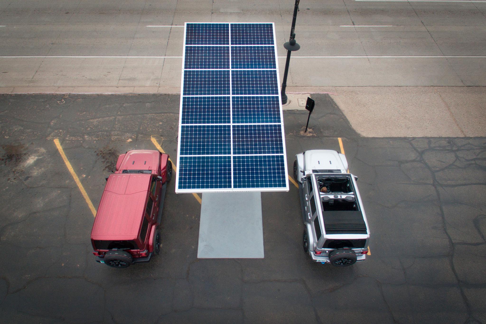 2021 Jeep Wrangler 4xe réseau de bornes de recharge pour Jeep