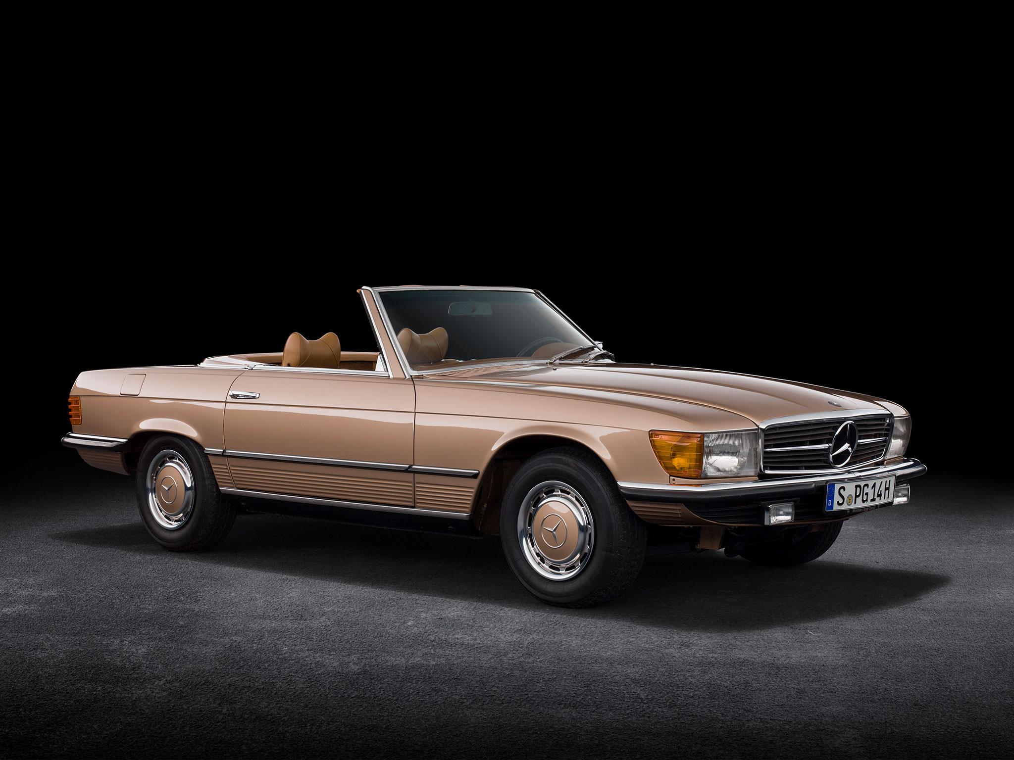 1971-1989 1980 Mercedes-Benz 350 SL R 107 est la première de la série qui restera au catalogue 18 ans.