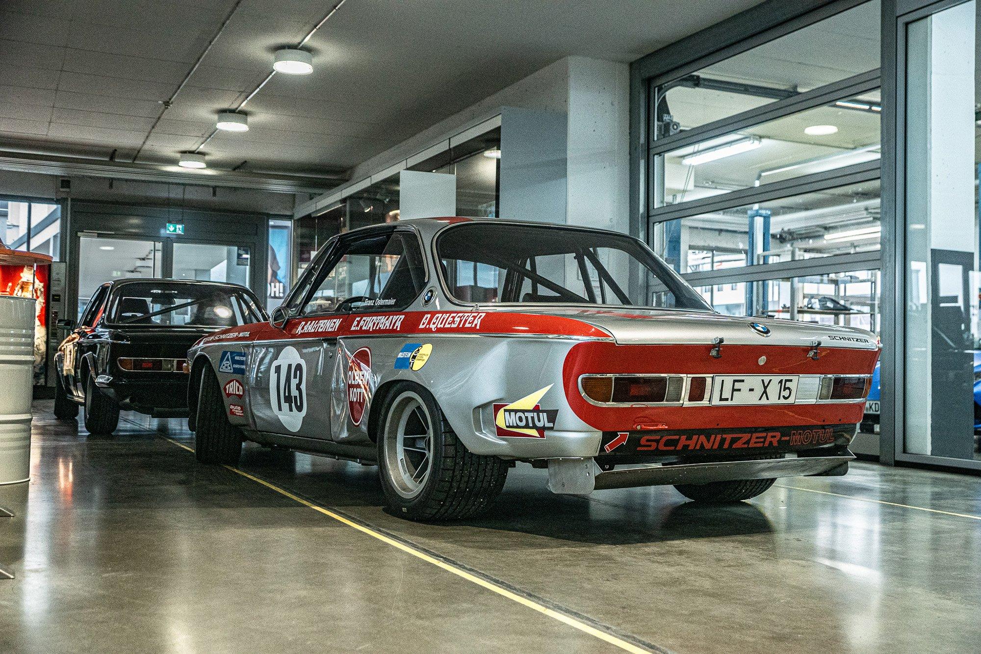 BMW 3.0 CSL préparation Schnitzer ©Julian Reichl - 50 ans BMW CSL
