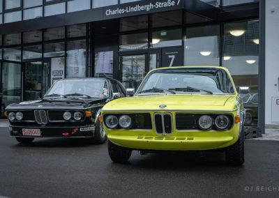 BMW 3.0 CSL version civile ©Julian Reichl - 50 ans BMW CSL