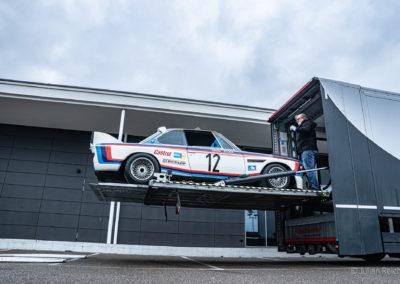 BMW 3.5 CSL préparation BMW Motorsport ©Julian Reichl - 50 ans BMW CSL