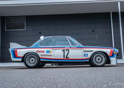 BMW 3.5 CSL préparation BMW Motorsport Chris Amon Joachim Stuck ©Julian Reichl - 50 ans BMW CSL