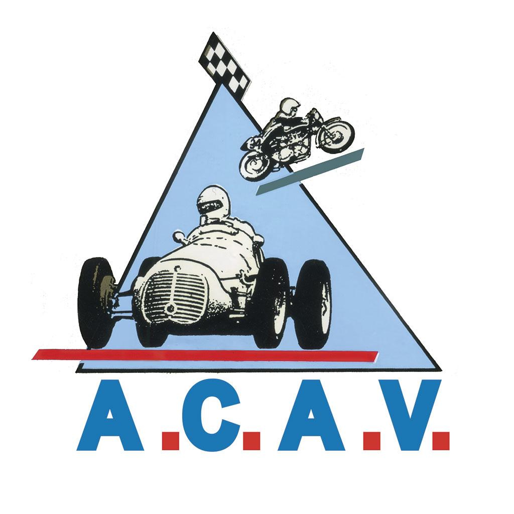 Logo ACAV Motor Passion du 10 au 12 septembre 2021.
