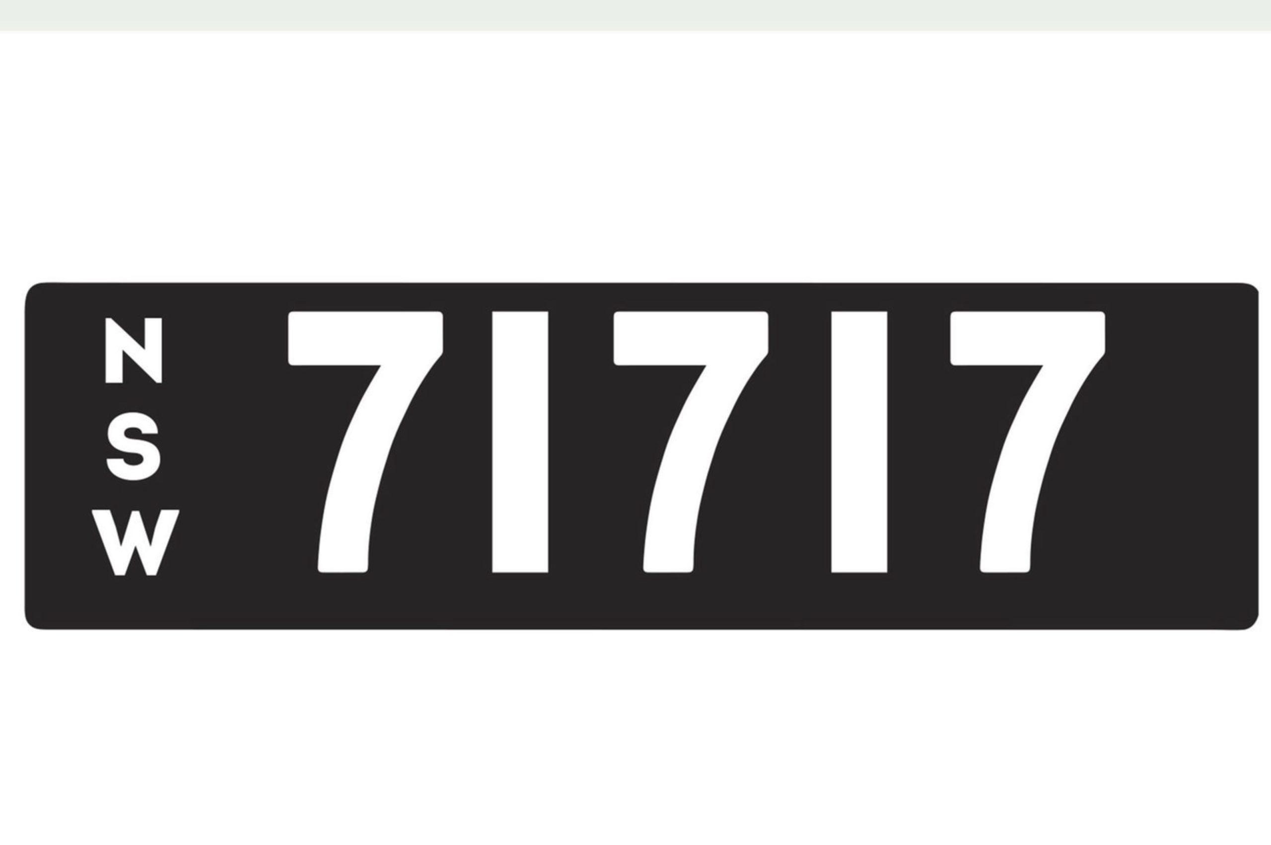 Plaque 71717 les séquences sont très recherchées - VIC et NSW avril 2021.