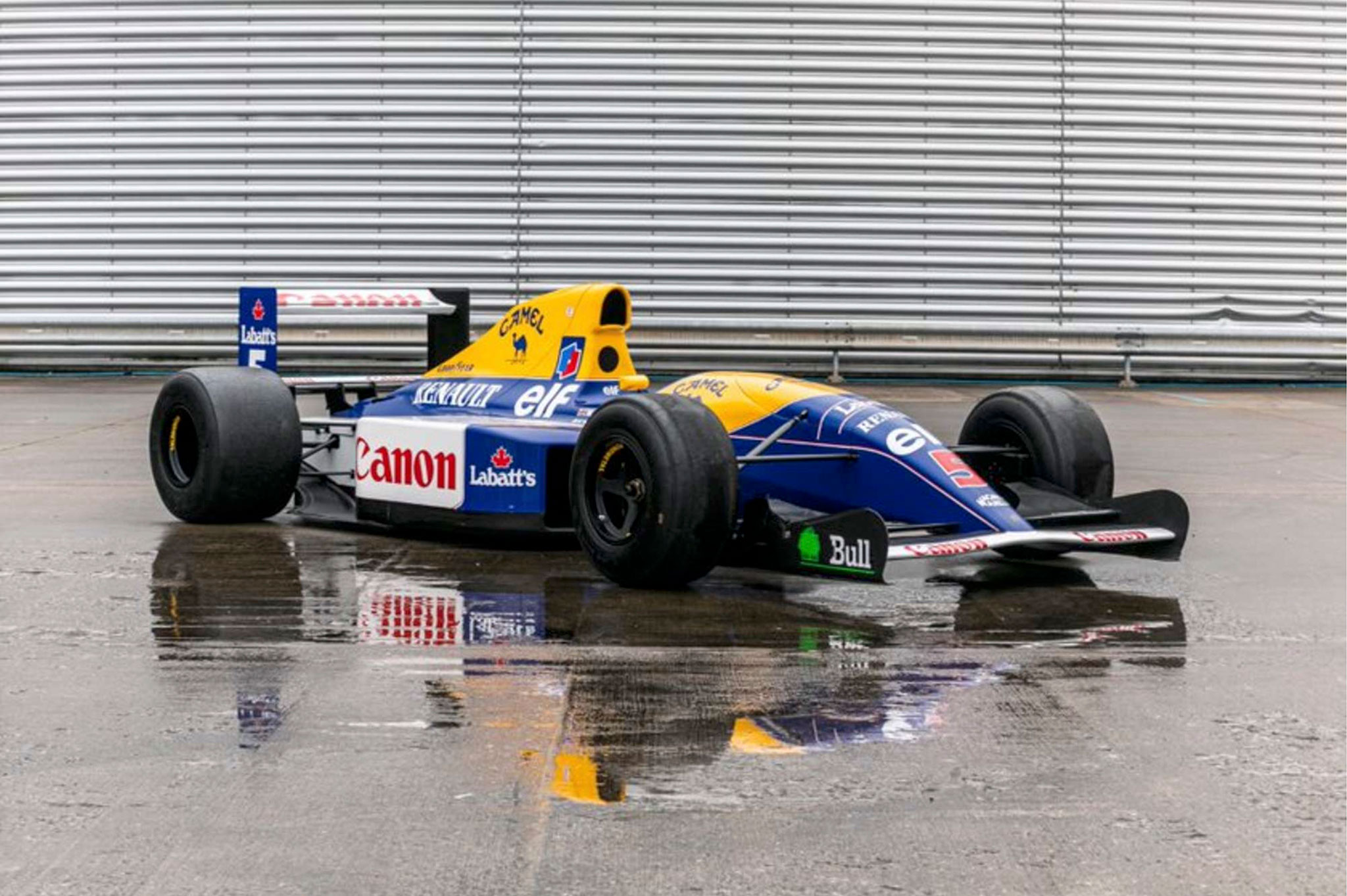 Williams F1 Red 5 FW14 display car - £174,375 - Silverstone Auction mars 2021.