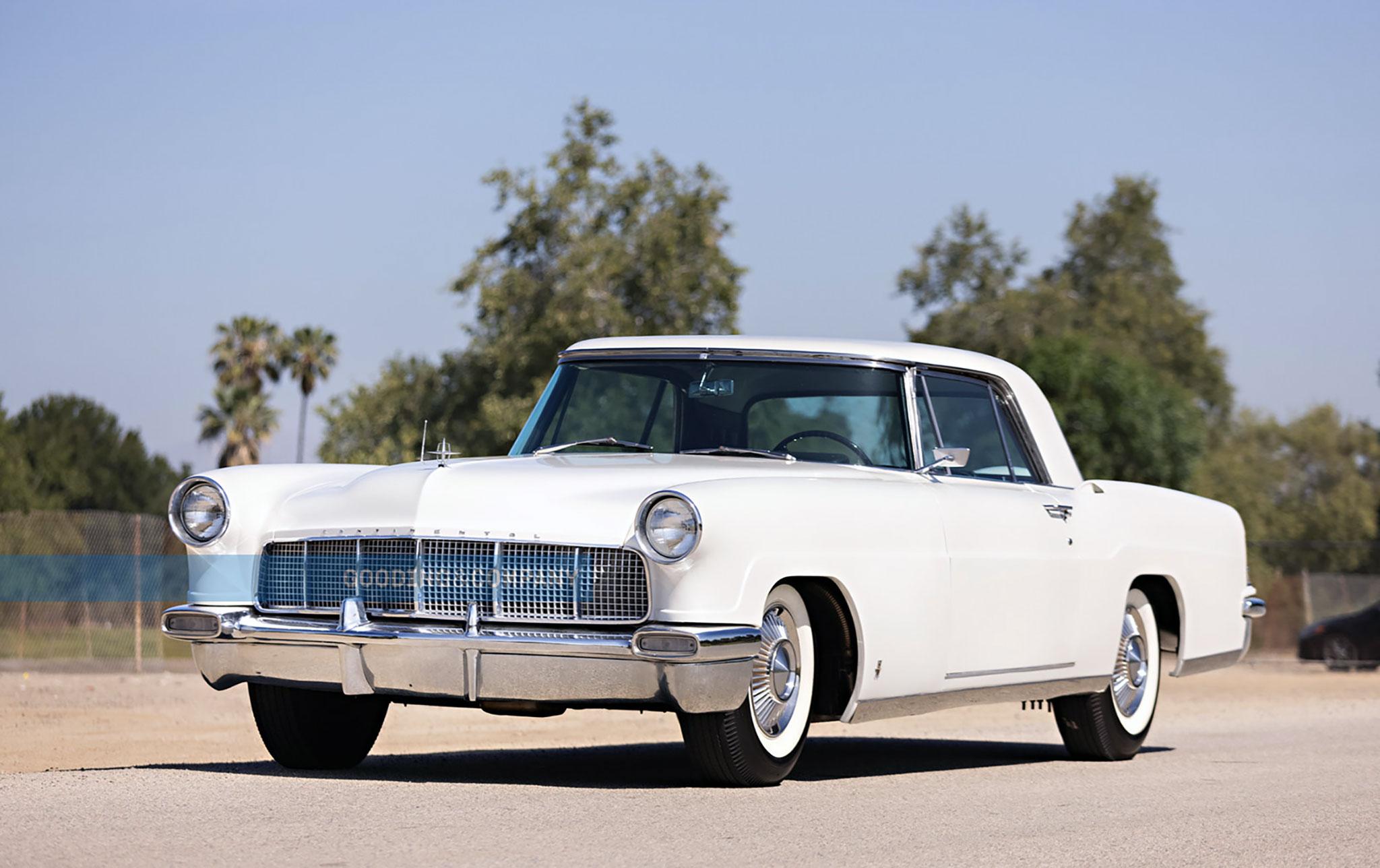 1956 Continental Mark II Gooding & Company CHF 40 000. Marché de la Voiture de Collection.