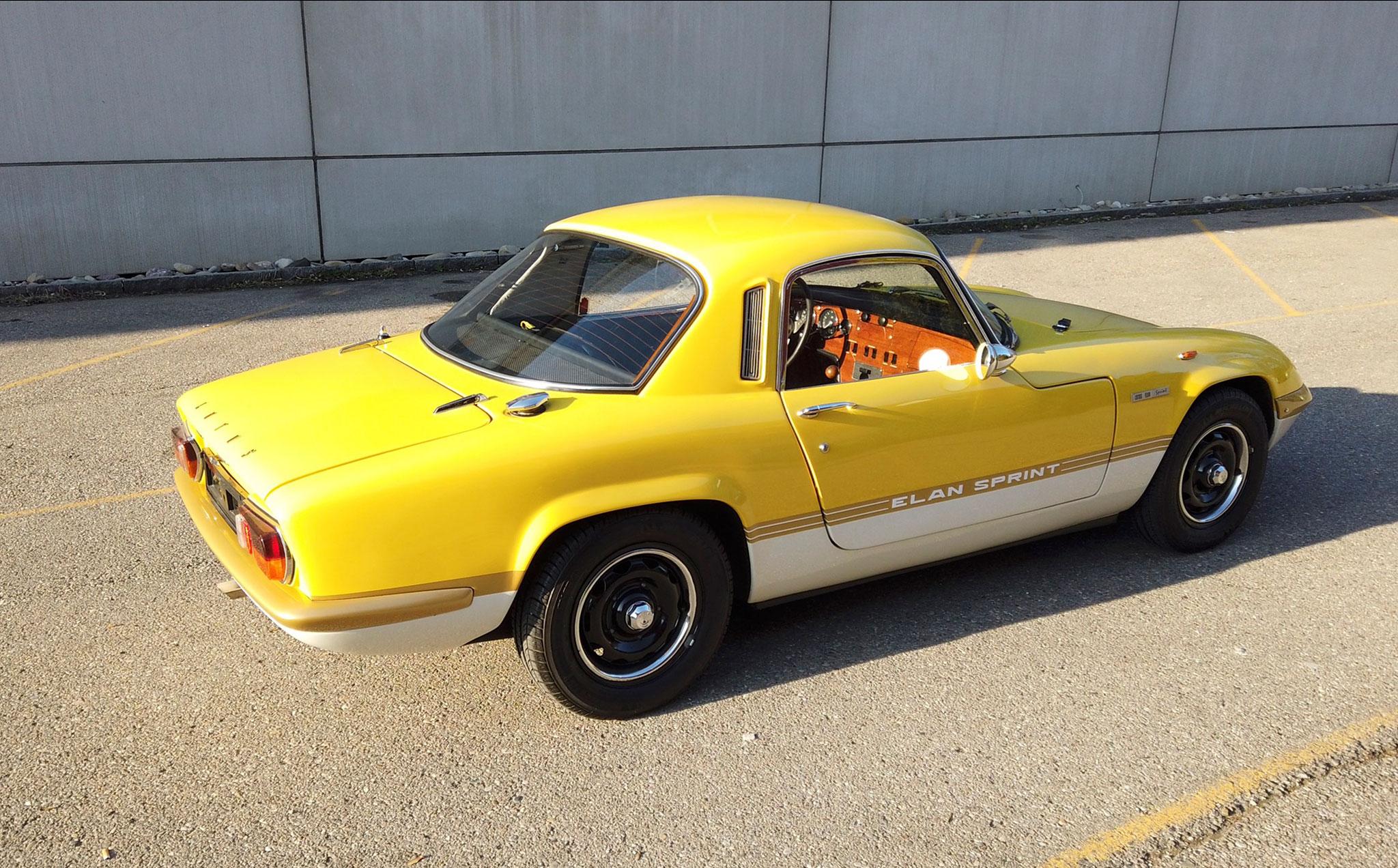 1971 Lotus Elan Sprint Coupé CHF 67 700.