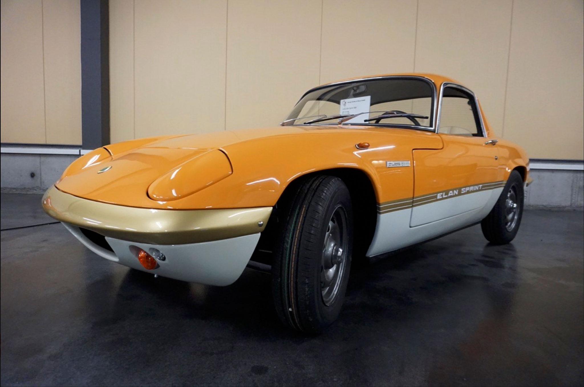 1975 Lotus Elan Sprint Coupé restauration à terminer CHF 42 000.