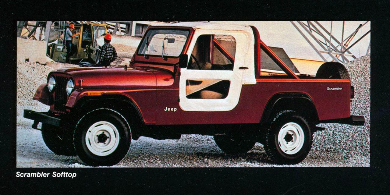 Jeep CJ-8 | Second pick-up dans la longue histoire de la marque Jeep®