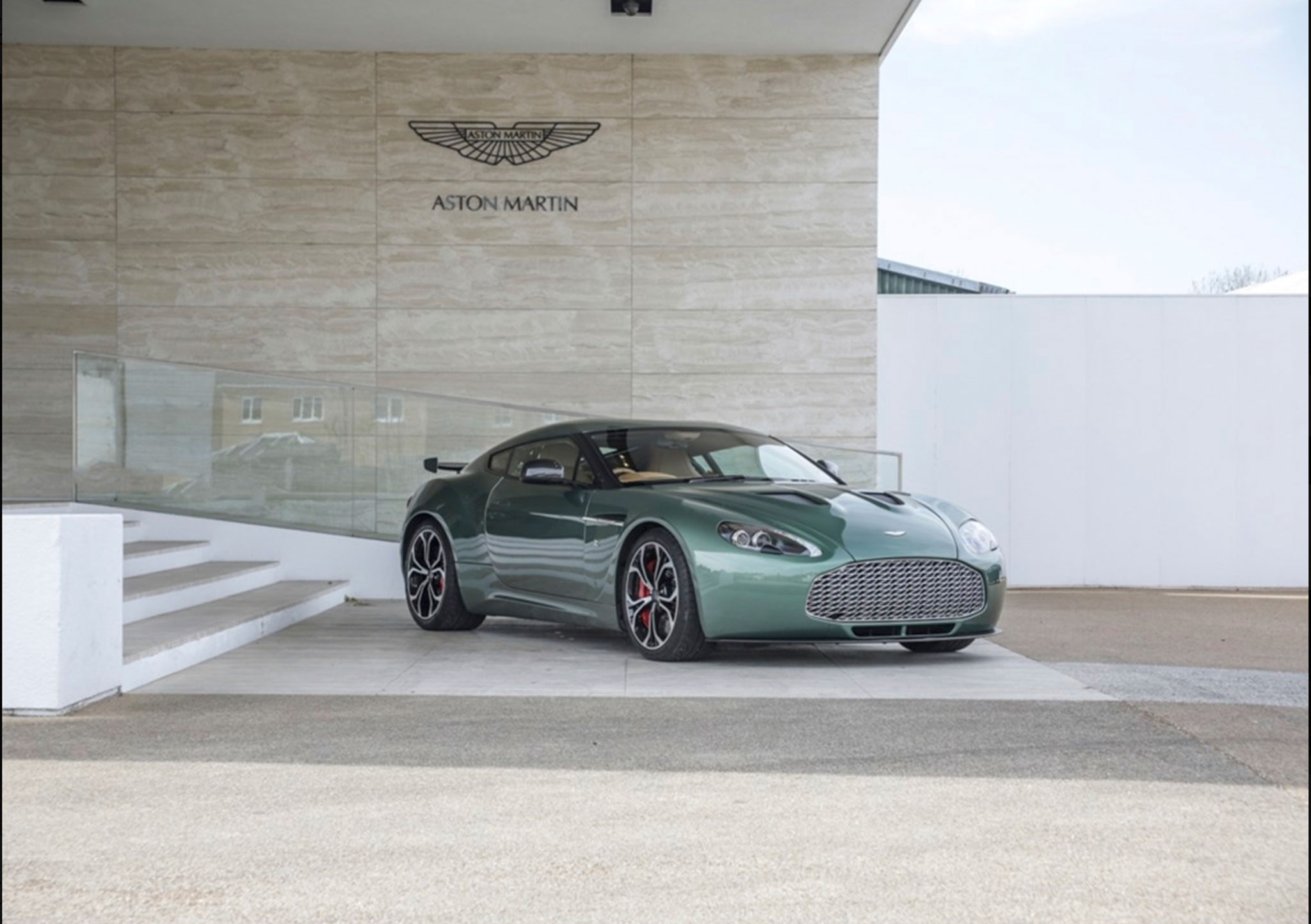 2012 Aston Martin V12 Zagato Prototype Historics Auctioneers Unsold. Marché de la Voiture de Collection.