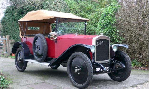 Jouffret Tourer | Une voiture française méconnue des années 1920