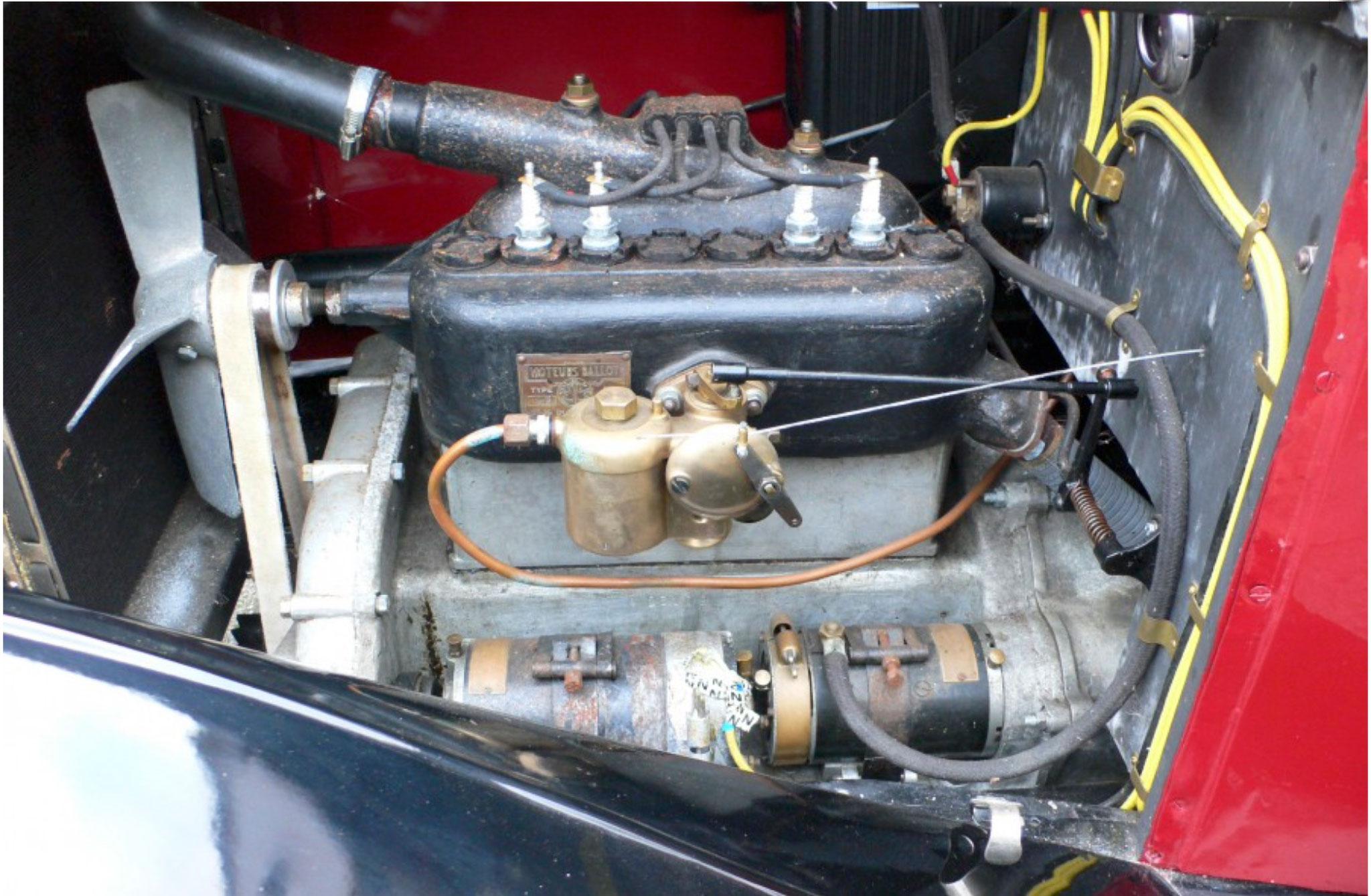 1921 Jouffret Four Seater Tourer moteur Ballot de 1593cc.