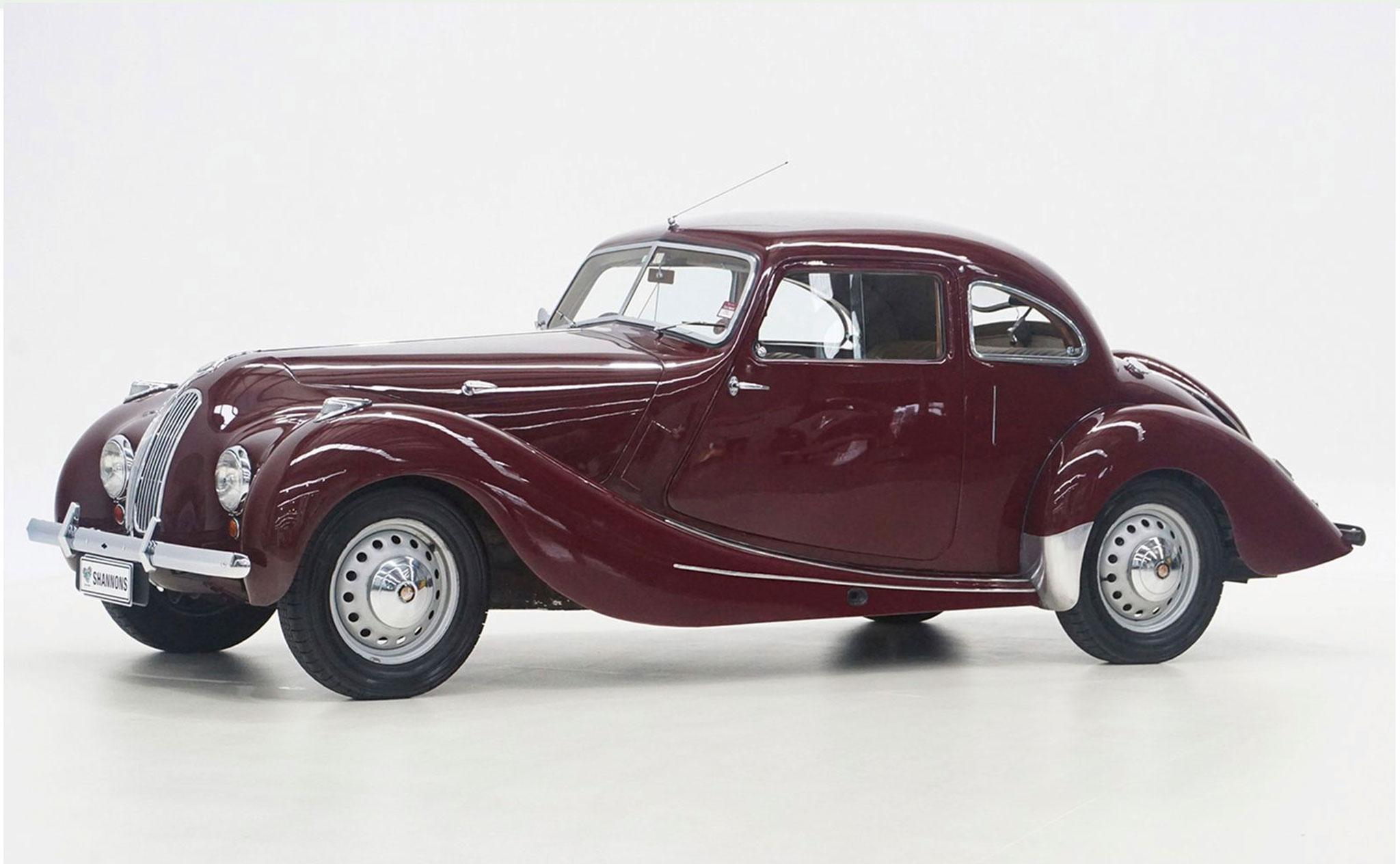 1950 Bristol 400 Saloon - Les Anglaises à l'honneur.