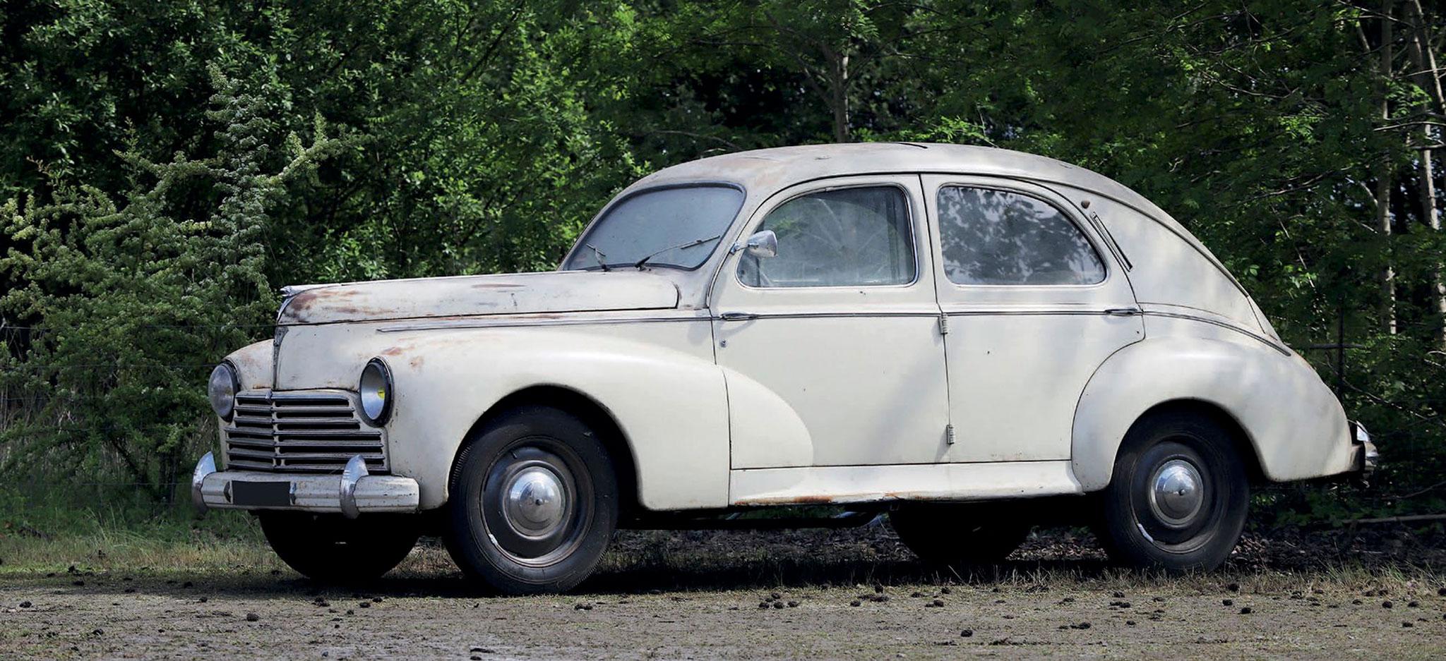 1950 Peugeot 203 A Berline € 3000 - 5000 - Populaires Françaises.