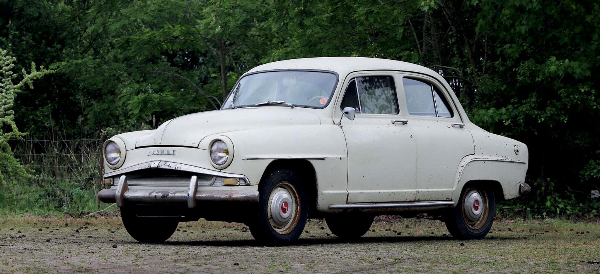 1956 Simca Aronde 90 A Berline €1200 - 1800 - Populaires Françaises.