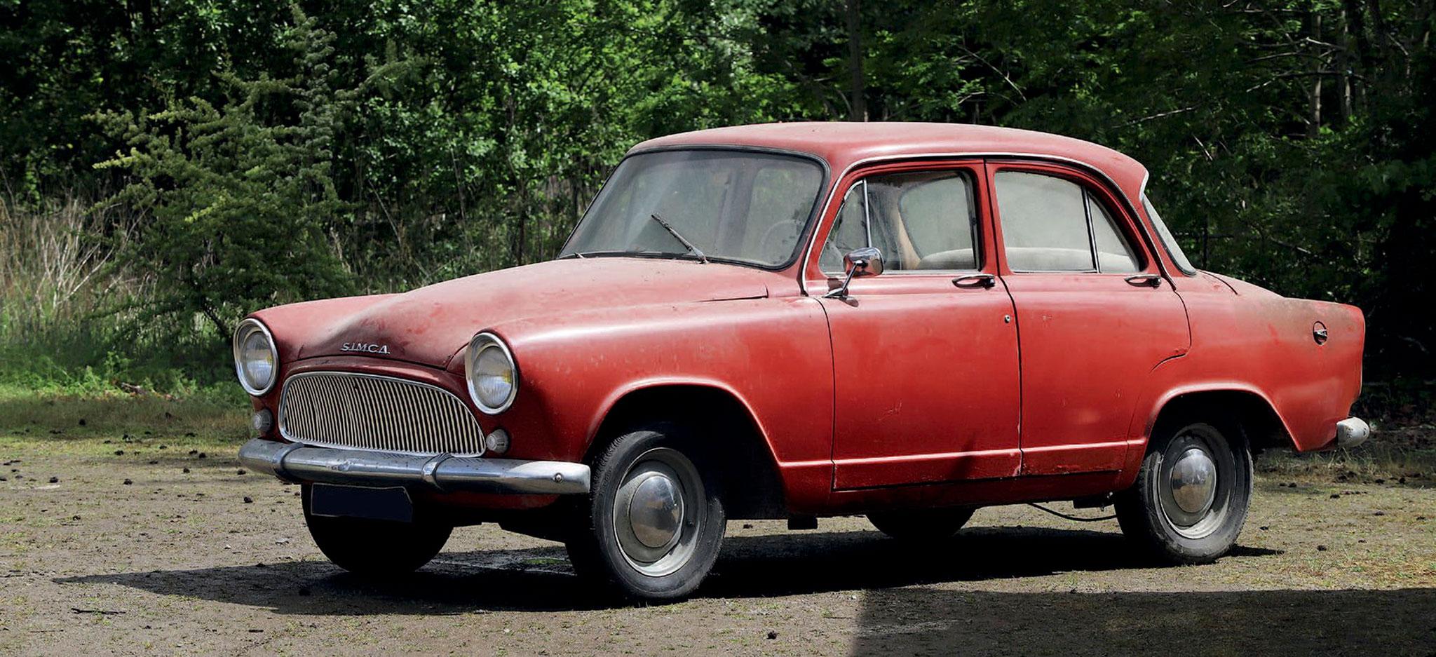 1962 Simca Aronde P60 Étoile €1200 - 1800 - Populaires Françaises.