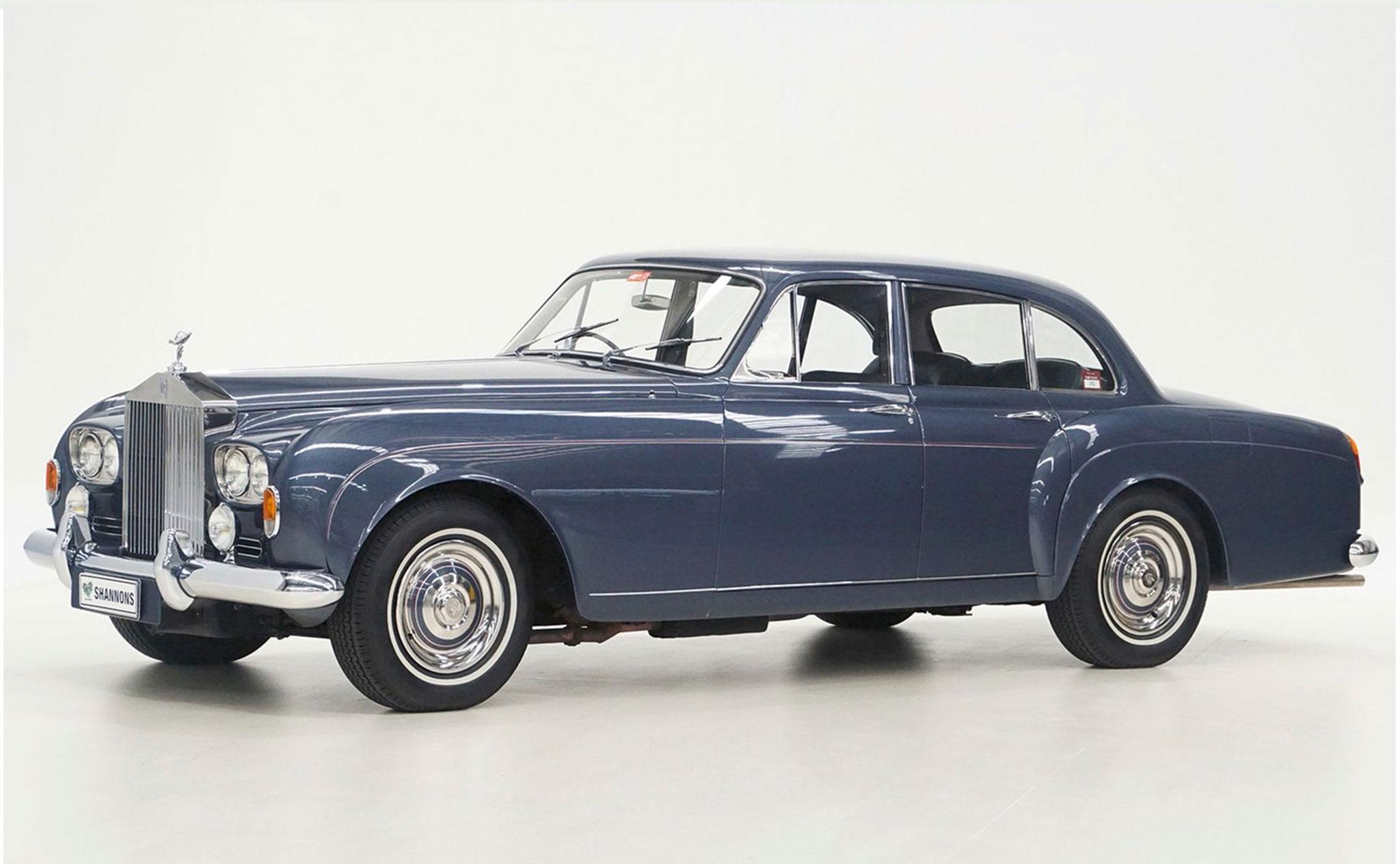 1965 Rolls-Royce Silver Cloud III Flying Spur Saloon Front - Les Anglaises à l'honneur.