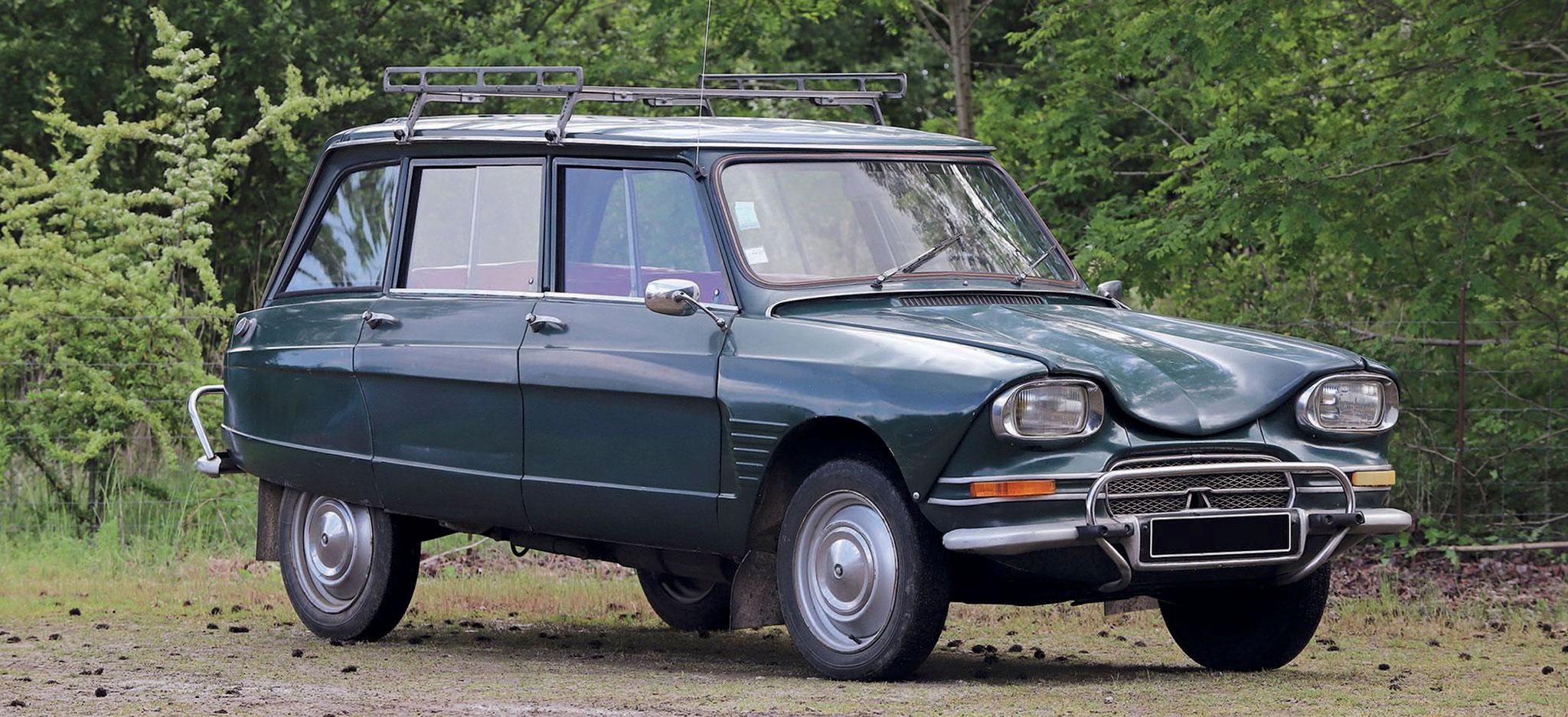 1968 Citroën Ami 6 Break €2500 - 4500 - Populaires Françaises.